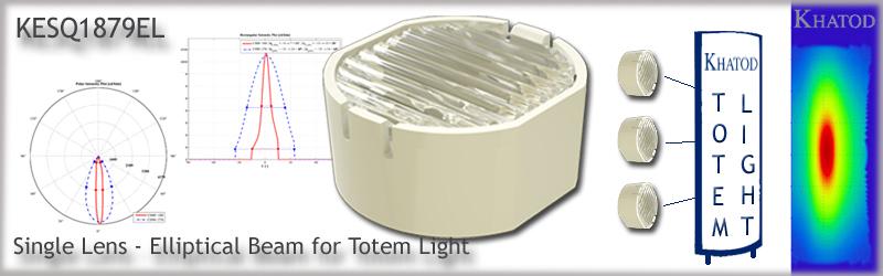 KESQ1879EL New Single Lens - Elliptical Beam for Totem Light